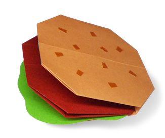 Origami Hamburger