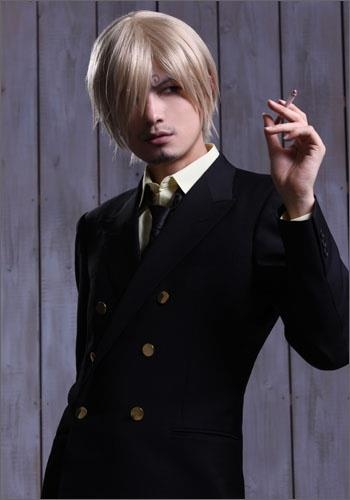 Awesome Sanji cosplay.