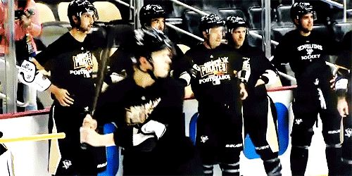 This may be why Olli Maatta plays hockey and not baseball. I LOVE HIM SO MUCH