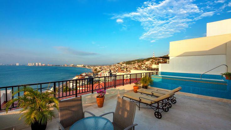 Molino de Agua Condominium PH3 -- Romantic Zone, downtown Puerto Vallarta #LuxuryTravel www.lujure.ca