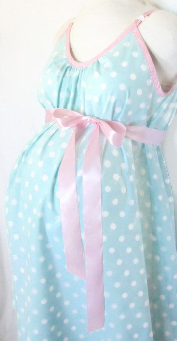 Maternity Hospital Gown delivery nursing gown by MilkThreads
