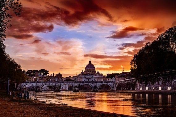 Fire on Rome di Agape4Photo su Etsy