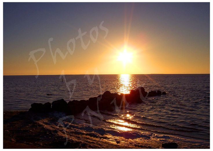 Fine Art Photography - Sunset over Tampa Bay Florida - 8x10 Matted & Framed optional by PNutsCreations on Etsy