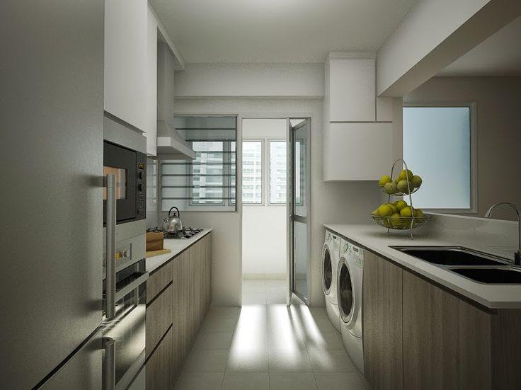 Bto Hdb 4 Room   Google Search. Long Narrow KitchenLong KitchenKitchen  LayoutsKitchen DesignsKitchen ... Part 97