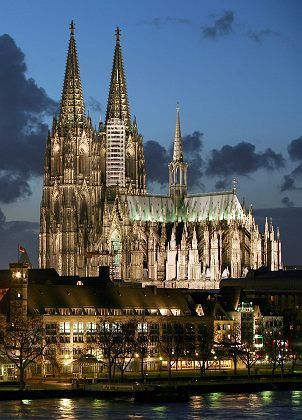 Cologne Cathedral, Germany - I've been there!