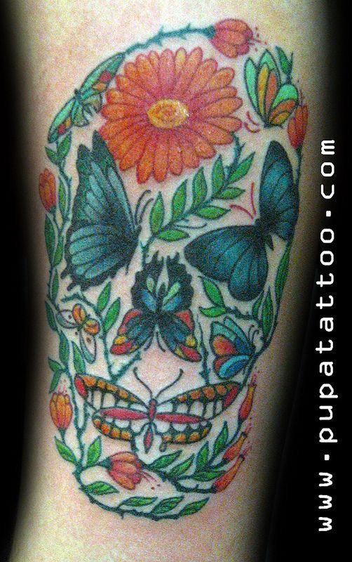 54 best butterfly fairy tattoo tatuaje mariposas hadas for Skull fairy tattoos