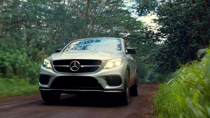 Mercedes-Benz TV: GLE Coupé JURASSIC WORLD TV commercial.