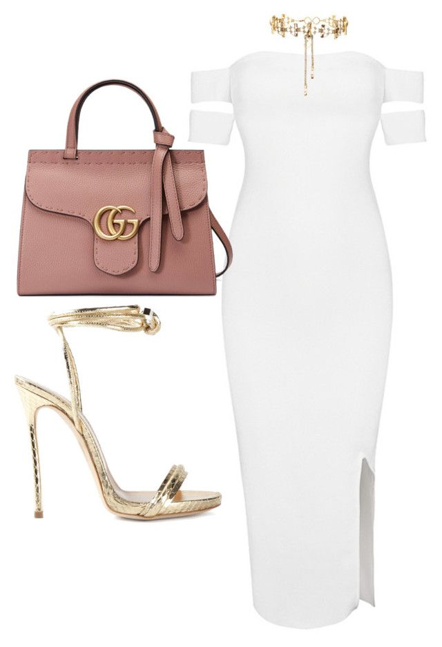 Untitled #3723 by dkfashion-658 on Polyvore featuring polyvore fashion style Posh Girl Dsquared2 Gucci Erickson Beamon clothing