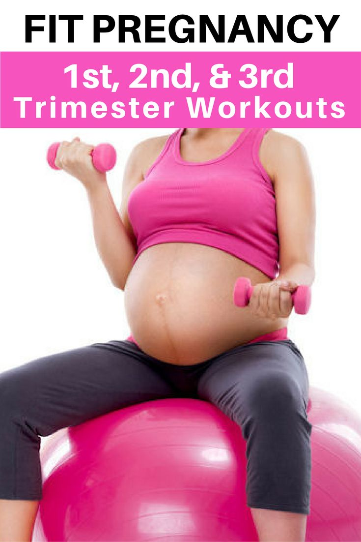Fit Pregnancy:  1st, 2nd & 3rd Trimester Home Workouts.
