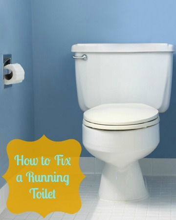 how to fix a running toilet australia