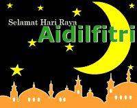 gambar animasi bergerak kartu ucapan hari raya Idul Fitri