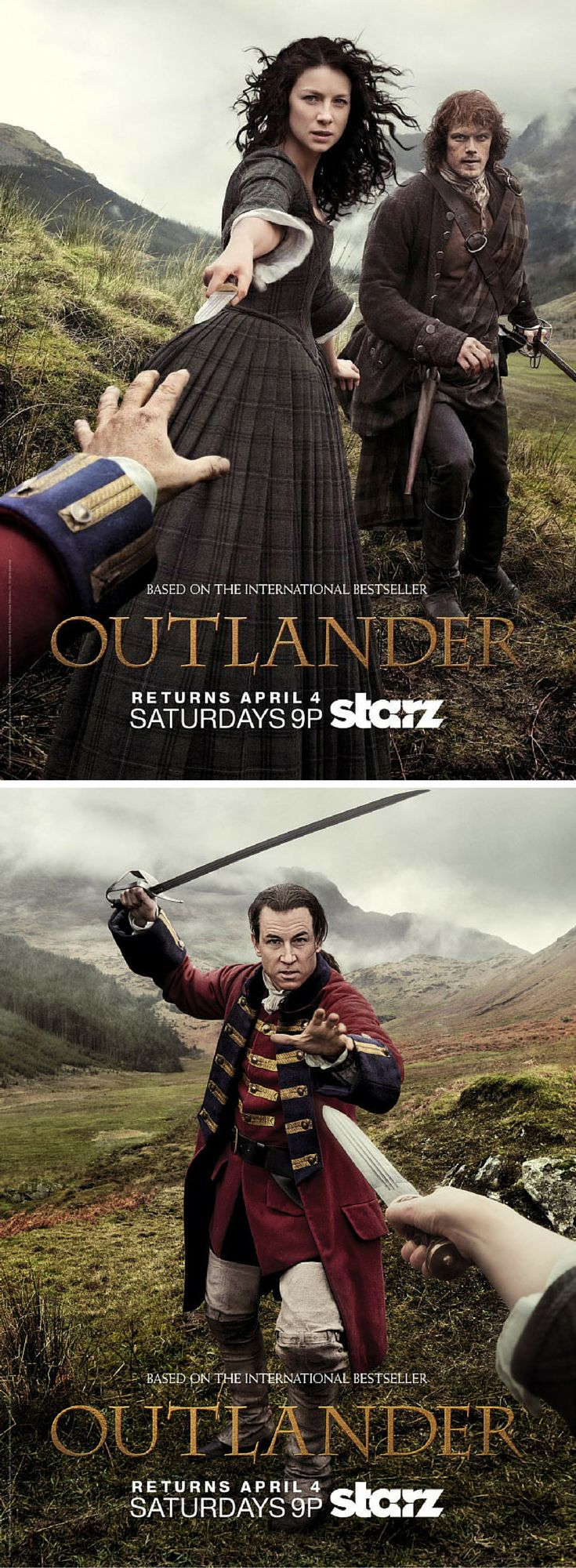 New 'Outlander' Posters: 5 Details We're Obsessing Over BookBub