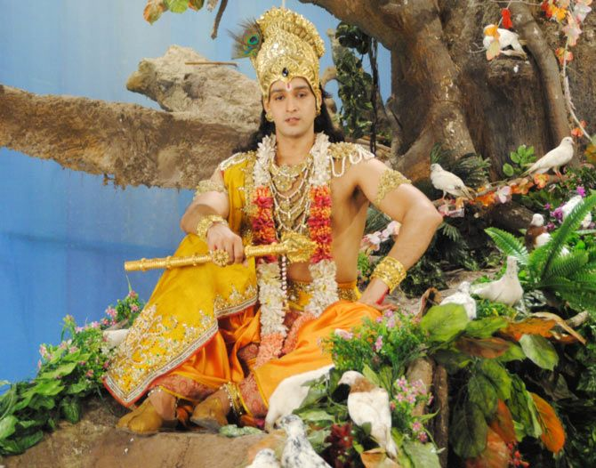 Meet The Cast Of Mahabharat With Images Radha Krishna Images
