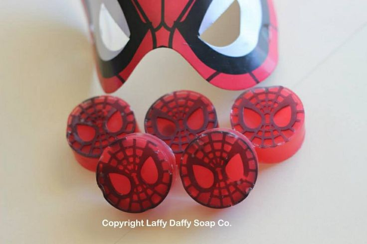 Spider-Man soaps