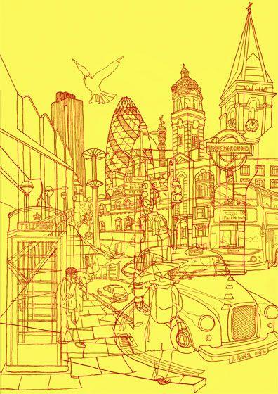 David Bushell Illustration - Design