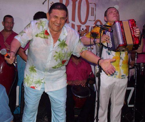 Poncho Zuleta y 'El Cocha' Molina. Foto Cristian Rodrífuez
