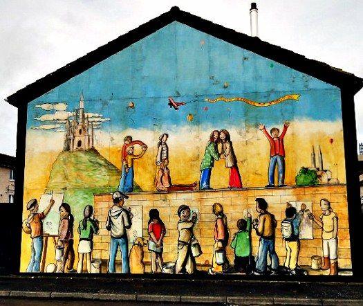Belfast mural peace children (525x442)