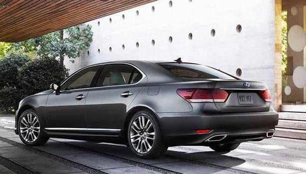 2017 Lexus LS 460 - release date
