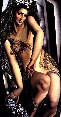 Tamara de Lempicka (1898-1980)  Nana de Herrera, 1928/1929