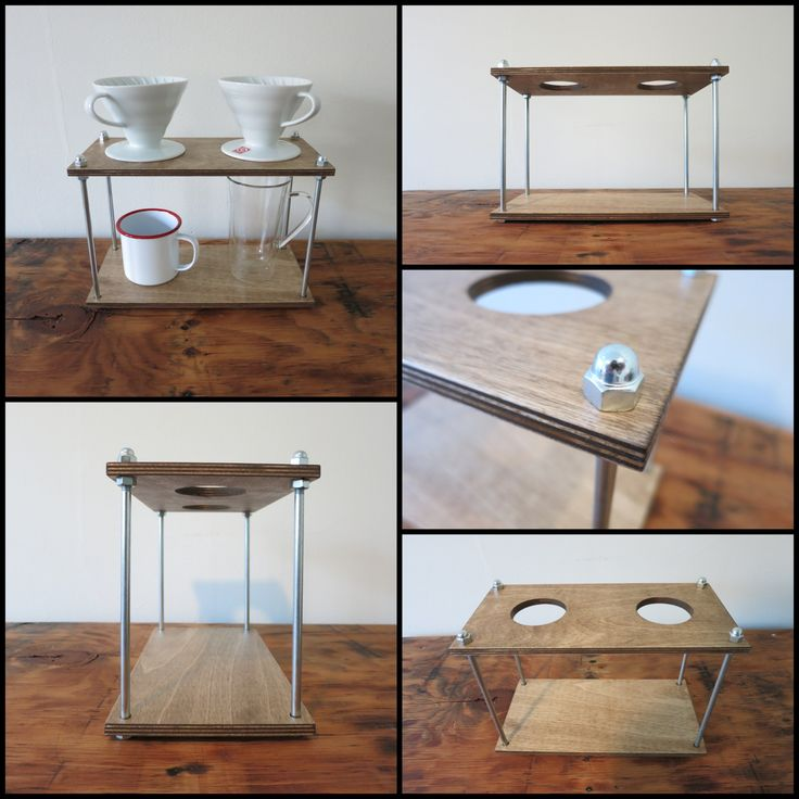 Pour Over Coffee Stand. I'll just build one myself.