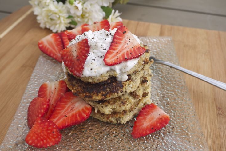 Protein-Packed Banana and Quinoa Griddle Cakes - Rosanna Davison Nutrition