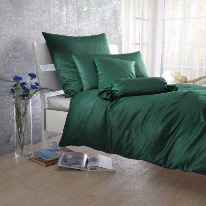 #beds #bedlinen Uni Mako-Satin Bettwäsche tannen Kissenbezug einzeln 40x80 cm: Klassische Uni Bettwäsche aus glattem… #mattresses #pillows