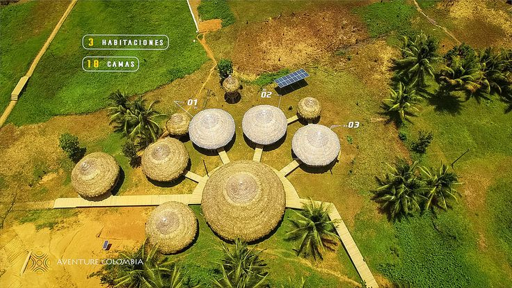 Ancestral Ecolodges in Colombia - More information of our packages at Aventurecolombia.com - Aerial picture of the Indigenal Huts of the Colombian Pacific Coast - Choco. Photo @MathieuPerrotBorhinger We have also beautiful videos images and info of Colombia on : YOUTUBE | INSTAGRAM | FACEBOOK - Abenteuertourismus adventure Agence de voyage agence de voyage en ligne agence de voyage pas cher agence de voyages en ligne agencia de viagem agencia de viaje agenzia di viaggio Aventure Colombia…