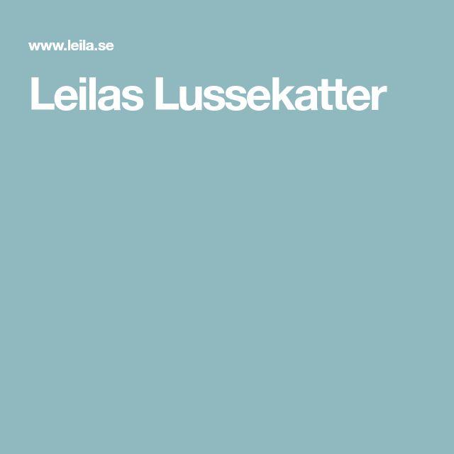 Leilas Lussekatter