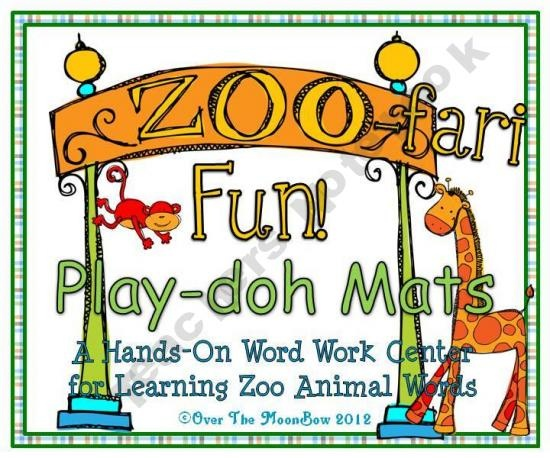 Your students will love these zoo animal themed play-doh mats that will help them learn vocabulary and develop their fine motor skills! The two styles of mats included provide various options for use.
