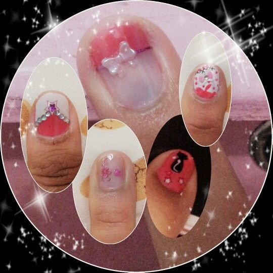 Pink again for nailart....it is my favorit color....love it