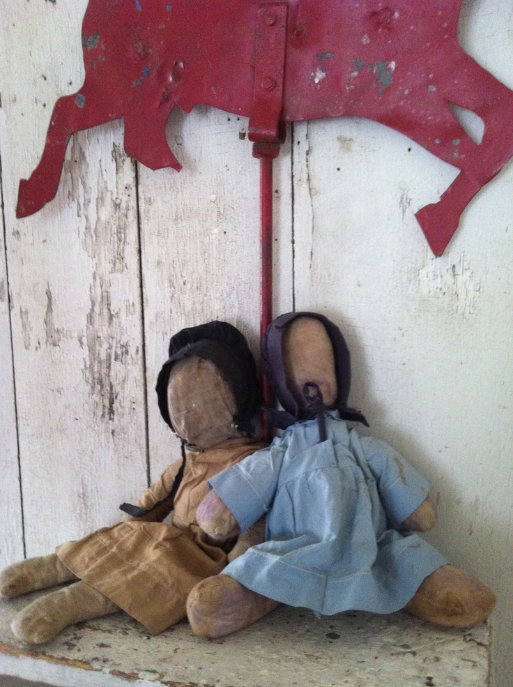 May 24Th Update 1800primitives.com  Early Amish Dolls.