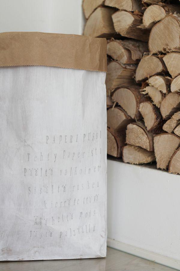 My DIY-le sac en papier