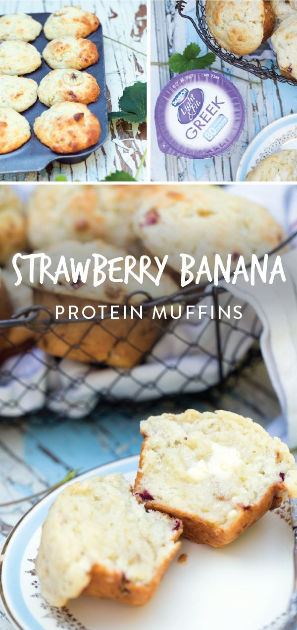 Tips and tricks for simplifying your morning routine—it's almost too good to be true! When you make this recipe for breakfast Strawberry Banana Protein Muffins ahead of time and stock the kitchen with quick (and healthy!) on-the-go foods, giving your kids breakfast dishes that they'll love and you won't have to stress over is easy. Grab Dannon Light and Fit Yogurt, Danimal Smoothies, and the NEW Mott's 100% Apple Juice Pouches from Kroger to serve breakfast on busy fall days in simply…