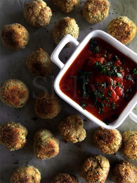 SLELLY: PIANETA MERLUZZO - Polpette di merluzzo e olive al...