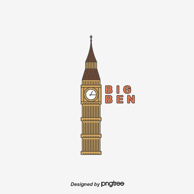 Line Elements Of London Big Ben British Characteristic Architecture London Big Ben Architecture Png Transparent Clipart Image And Psd File For Free Download Big Ben Architecture Big Ben Big Ben London