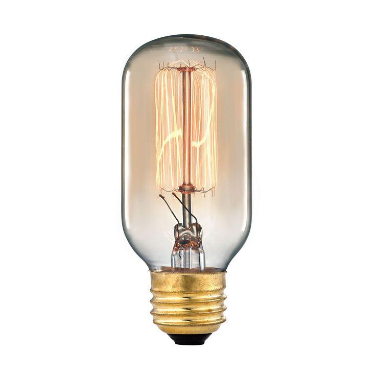 Vintage Filament Light Bulb - 60 Watt Medium Base 1102