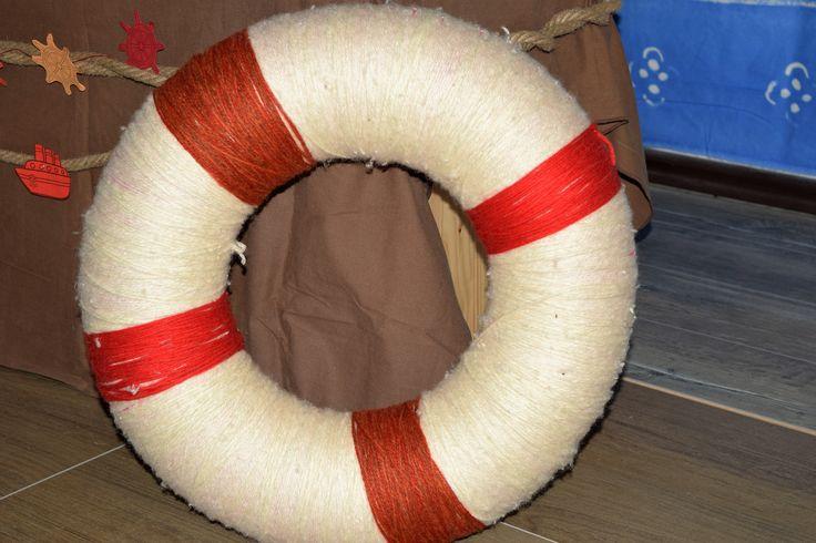Nautical decor Life ring