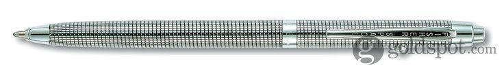 Fisher Astronaut - B4 Black Grid Design Shuttle Space Ballpoint Pen