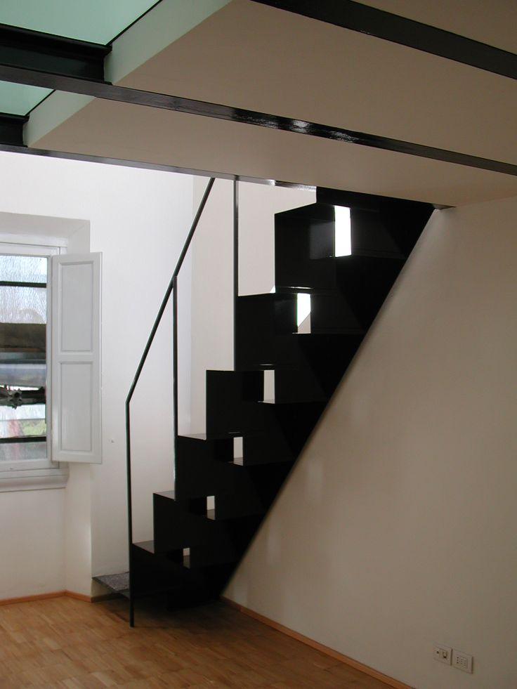 Stairs// Arch. Tommaso Rossi Fioravati// Arch. Barbara Monica