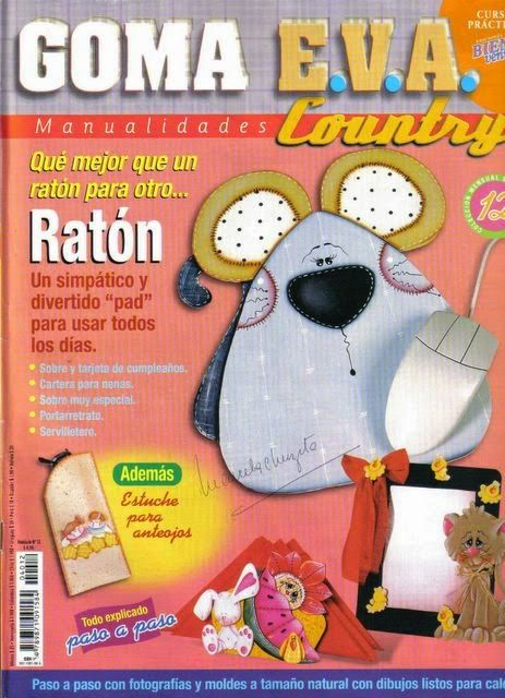 Revistas de manualidades Gratis: Revista de manualidades Goma Eva Country