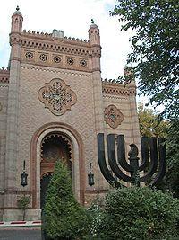 Le Templul Coral, la synagogue de Bucarest
