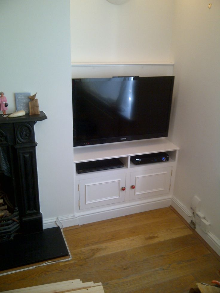 Bespoke alcove flatscreen TV unit Bespoke Alcove flatscreen TV unit – Surrey Joinery Specialists - Joinery and Carpentry Services in Weybridge Surrey and Sunbury on Thames Middlesex