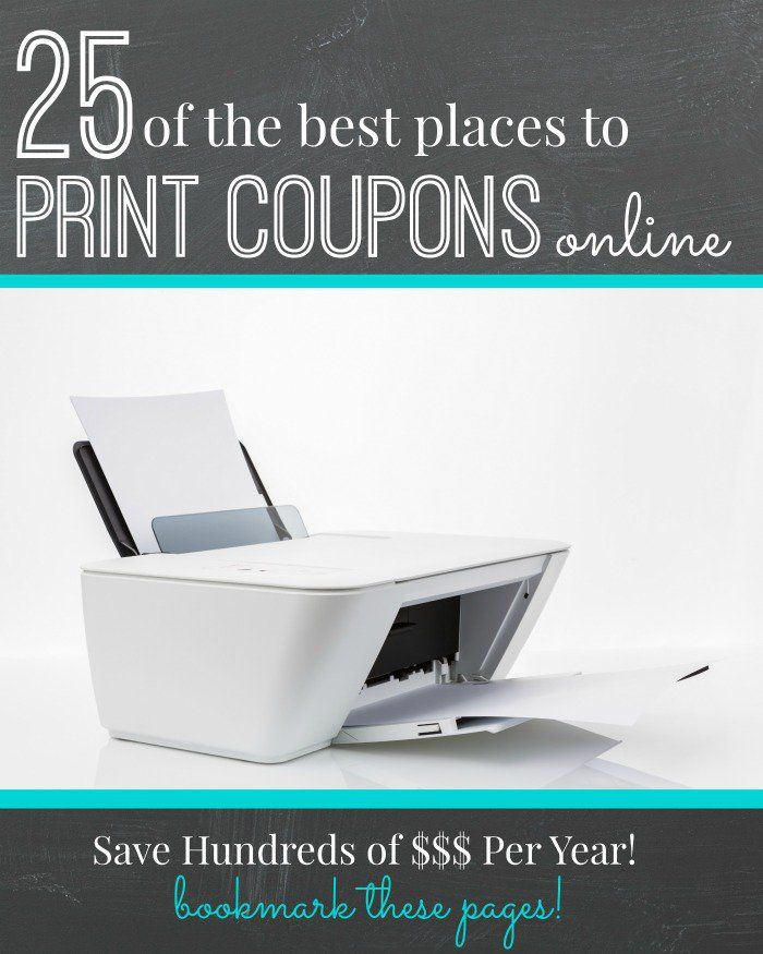 printable coupon websites