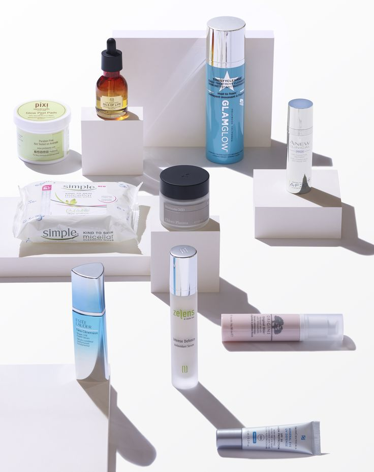 GLAMOUR Beauty Power List Skincare shot with Dennis Pederson