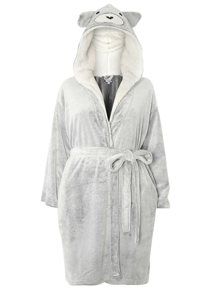 Grey Bear Robe