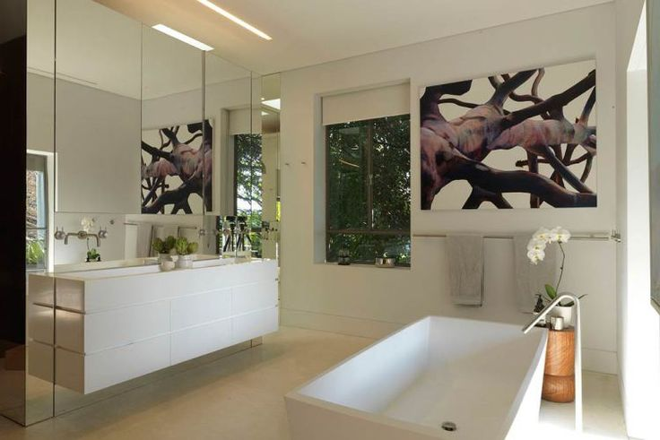 Cate Blanchett's Bathroom in her Sydney Home