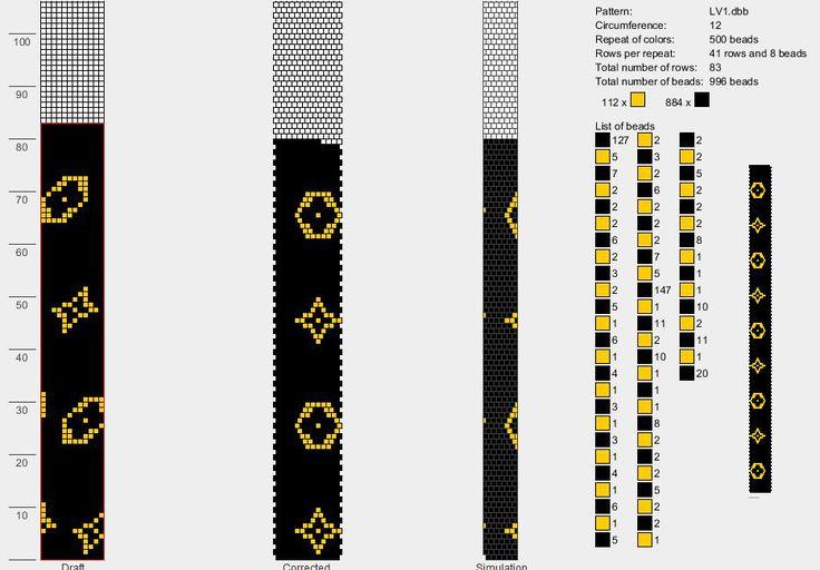 Free Bead Crochet Pattern