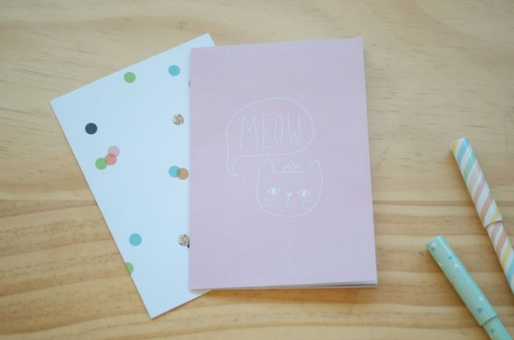 a little birdy blog: DIY printable notebooks