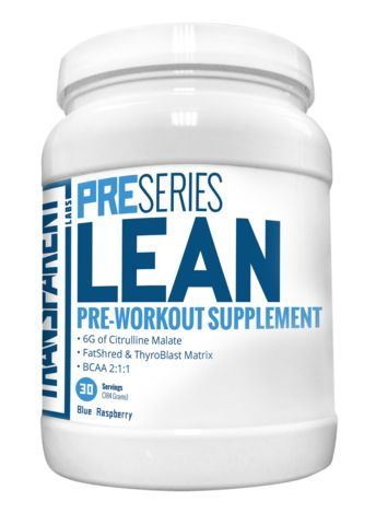 PreSeries LEAN Pre-Workout – Transparent Labs