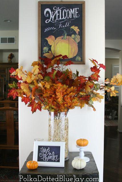 DIY Fall Entryway Decor